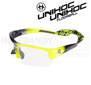 Unihoc Eyewear Victory Junior neon yellow / black