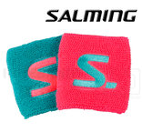 Salming Wristband Short 2-pack diva pink / turquoise