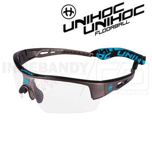 Unihoc Eyewear Victory Senior gunmetal / blue