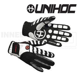 Unihoc Goalie Gloves Gripper silicone