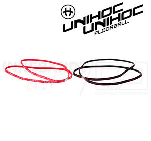 UNIHOC Hairband Totti 2-pack red/black