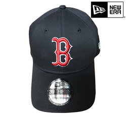 New Era Boston Red Socks 39thirty MLB basic black red