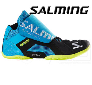 Salming Slide 5 Goalie Shoe - Cyan