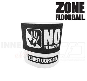 Zone Captain's band NO TO RACISM black/white