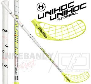 UNIHOC Replayer STL 29 white / neon yellow