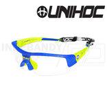 Unihoc Eyewear Victory Kids crystal blue / yellow