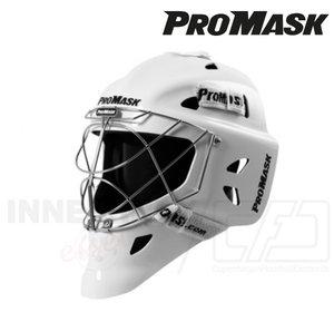 ProMask Goalie Mask X10 Invader white