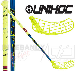 UNIHOC Player3 32 neon yellow