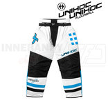 Unihoc Feather Goalie Pants White / Blue