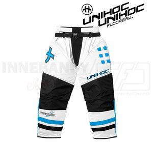 Unihoc Feather Goalie Pants White / Blue