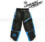 Unihoc Optima Goalie Pants Black / Blue