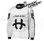 Unihoc Shield Goalie Jersey black/white