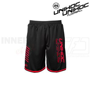 UNIHOC Shorts Vendetta black/neon red