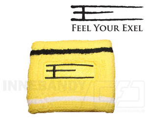 Exel Wristband E short yellow