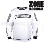 Zone Monster Goalie Jersey white/black