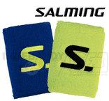 Salming Wristband Short 2-pack safety yellow / cobolt blue