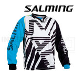 Salming Goalie Jersey Travis - Cyan Blue