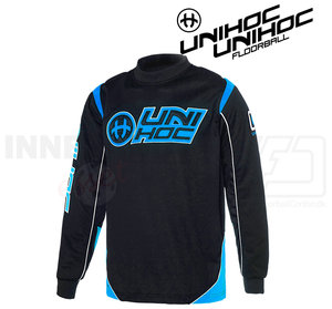 Unihoc Optima Goalie Jersey Black/Blue