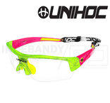 Unihoc Eyewear Victory Junior crystal green / red
