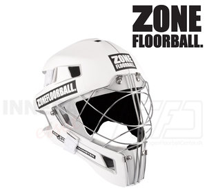 Zone Goalie Mask MONSTER CAT EYE CAGE white / black