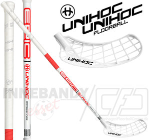 UNIHOC Epic Bamboo 29 white / red 2-pack