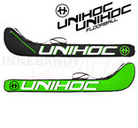 Unihoc Stickbag Ultra Junior 80 - 87 cm black/green