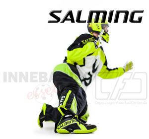 Salming Cross Goalie Pants - Neongul