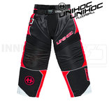 Unihoc Optima Goalie Pants Black / Neon Red