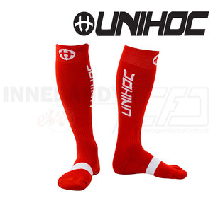 Unihoc Sock Badge - Red