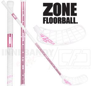 Zone Hyper Airlight 28 white/pink chrome