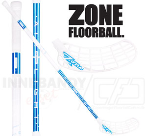 Zone Zuper Airlight 26 white/blue chrome
