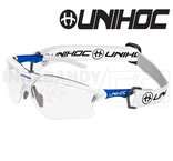 Unihoc Eyewear X-Ray Junior white / blue