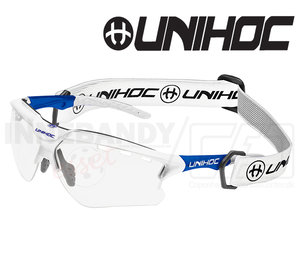 Unihoc Eyewear X-Ray Junior white / blue